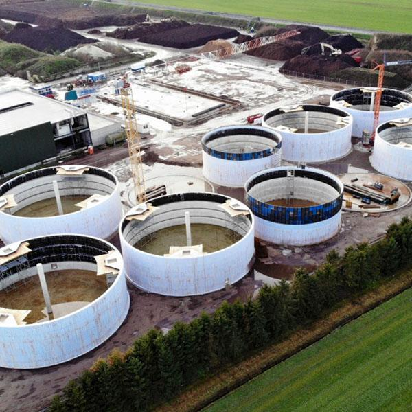 Sterksel, Anaerobic Digestion, Netherlands - Helios
